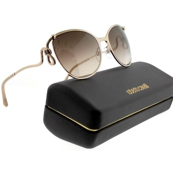 ROBERTO CAVALLI RC1025-28G-59  Sunglasses Size 59mm 135mm 21mm Brown